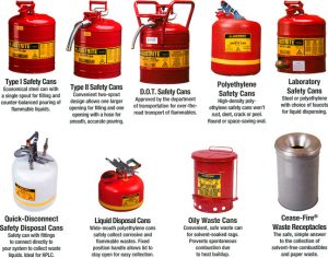 justrite gas can