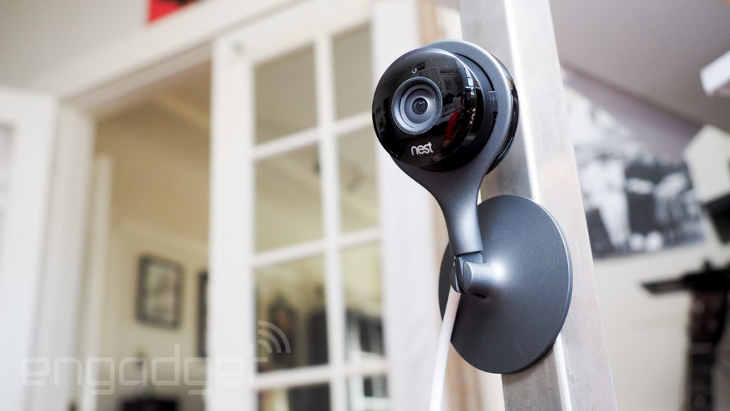 IP Cameras Outdoor Dropcases Nest Cam Pro Review