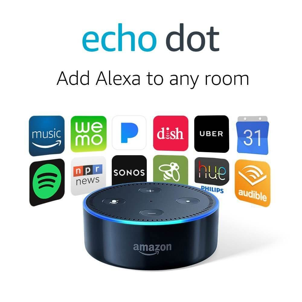 Smart speaker with Alexa